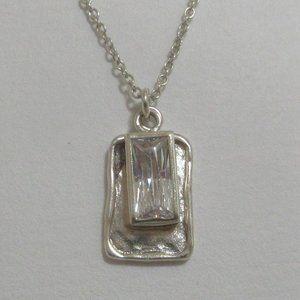 Silpada Creative Spark sterling silver necklace